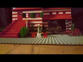 Лего-домик ёжика