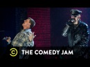 """The Comedy Jam - Jim Breuer & Rob Halford ( Judas Priest ) - """"You've Got Another Thing Coming"""""""