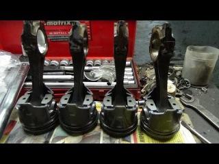 Зеркальный двигатель Ваз 2101,част № 3 ,начало сборки.