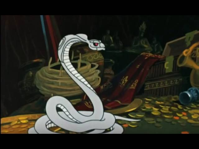 Маугли вырезал жало кобре-убийцею