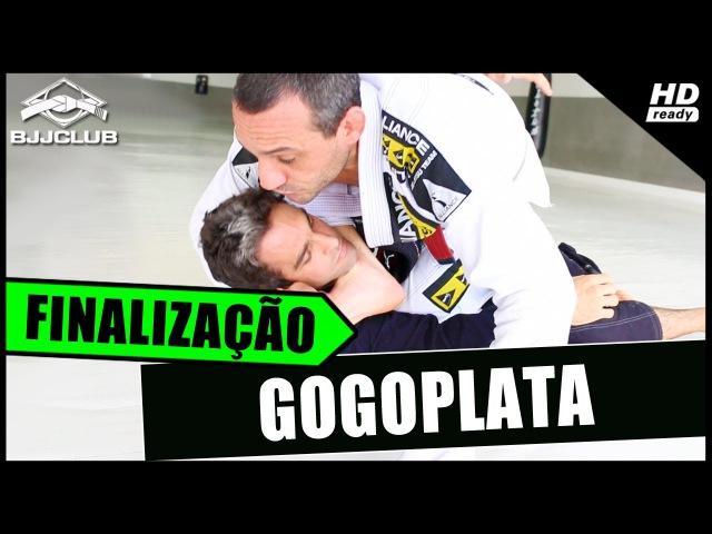 Jiu-Jitsu - Finalização Gogoplata - Luciano Nucci Casquinha - BJJCLUB