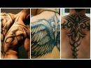 Модные мужские татуировки на спину !