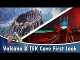 First Look at The New Volcano &amp TEK Cave (Ascension)