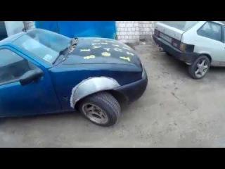 Расширение арок Ford Fiesta Mk4. Часть 2