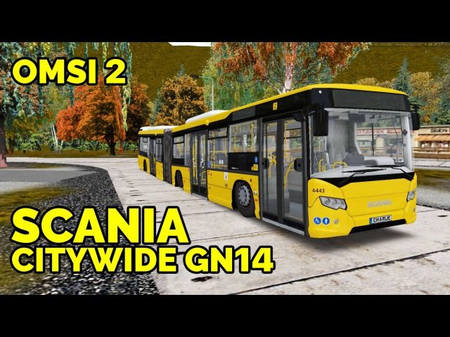 OMSI 2 Обзор автобуса Scania CityWide GN14