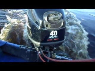 Лодочный мотор Sea Pro (Сиа про) T40 Обзор