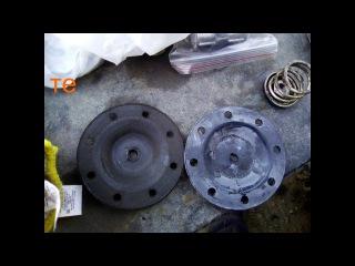 Замена электропневмо клапанов Камаз 5511 на евро