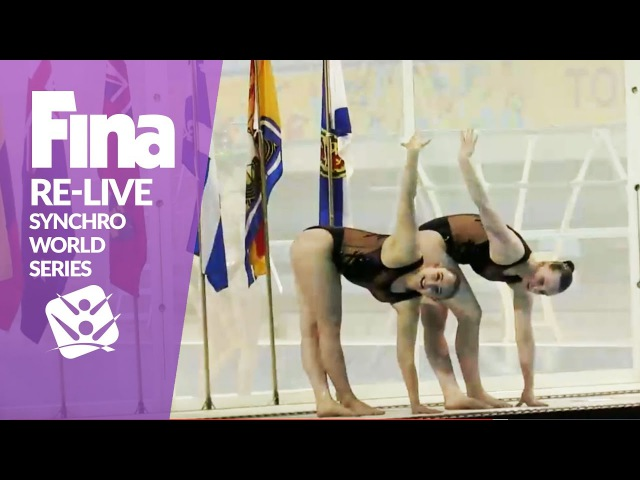 RE-LIVE | Senior Mixed Duet Free - Toronto | FINA Synchronised Swimming World Series 2017