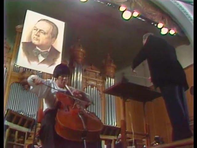 Natalia Gutman plays Myaskovsky Cello Concerto - video 1985