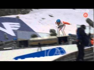 Dimitry Vassiliev (254 m - fall) - Vikersund HS 225 - Q