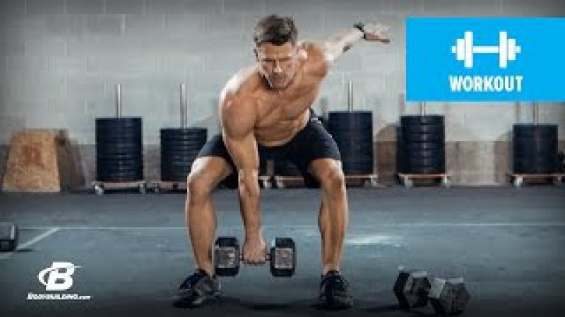 Ultimate Full Body Dumbbell Workout Andy Speer