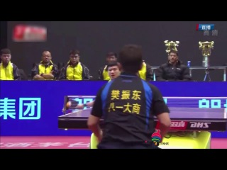 (Final) 2016 China Super League | Fan Zhendong vs Liang Jingkun | Full Match | Table Tennis