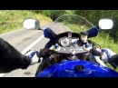 Suzuki GSXR 600 VS GSX-R 1000 crash GOPRO