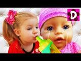 Bad Baby КУКЛА Беби Бон ПЛАЧЕТ Вредные Детки в нашем Доме Куклы Baby Born Doll Kids Videos bad kids