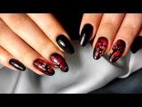 Дизайн ногтей на ХЕЛЛОУИН  интересный тематический дизайн от Татьяны Бугрий