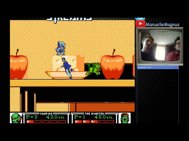 Manuelle Magnus Streams: Monster in My Pocket (NES)