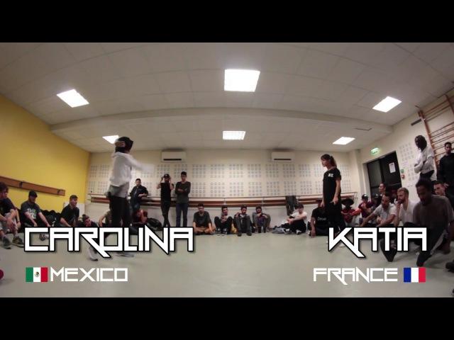 Cyph'for the Hood   CAROLINA (Mexico) vs. KATIA (France)