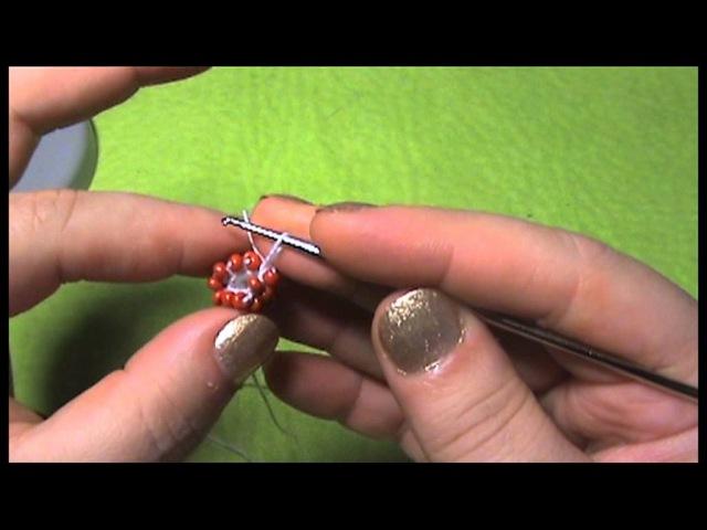 Вязанный жгут из бисера крючком МК / D.I.Y. Knitting harness beaded crochet