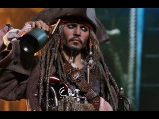 Фигурки Hot Toys Captain Jack Sparrow Dead Men Tell No Tales 1/6 Scale Action Figure