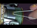 Фиксация дальности заброса с помощью клипсы на шпуле salapinru