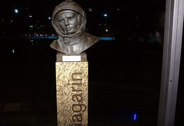 В Буэнос-Айресе установили памятник Юрию Гагарину