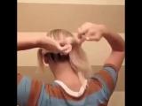 Быстрая прическа за 20 мин🤗#волосы #прически #укладка #hair #красота #стрижка #омбре #окрашивание #салонкрасоты #hairstyle #сти