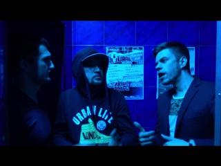 Охранник осадил двух рэпперов в ночном клубе (15 октября | Ural Records Реинкарнация | клуб Garage)