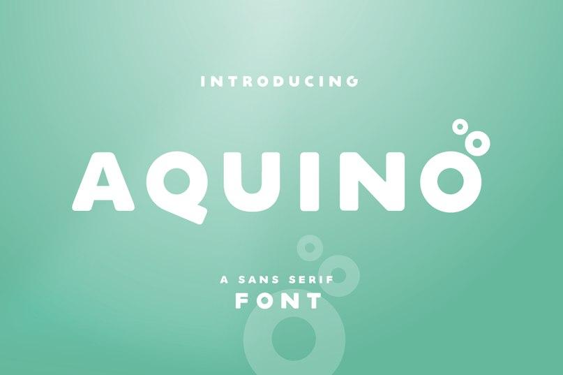 Aquino шрифт скачать бесплатно