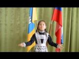 Моя доча-Айлана поздравляет всех с праздником! В столь малом возрасте, она уже ценит мирное небо над нами!