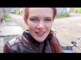 Девушка на мотоцикле Урал - Почему Настя ездит на Урале
