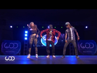 Nonstop, Dytto, Poppin John ¦ FRONTROW ¦ World of Dance Los Angeles 2015 ¦ #WODLA15