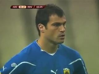 Лига Европы - 2010-11. Группа G. 6 тур. АЕК - Зенит (16.12.2010)