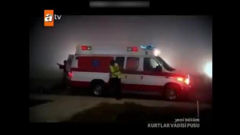 EFSANE SAHNE - POLAT ALEMDAR,ARON FELLER'İ YAKALIY Kurtlar Vadisi Pusu Amerika