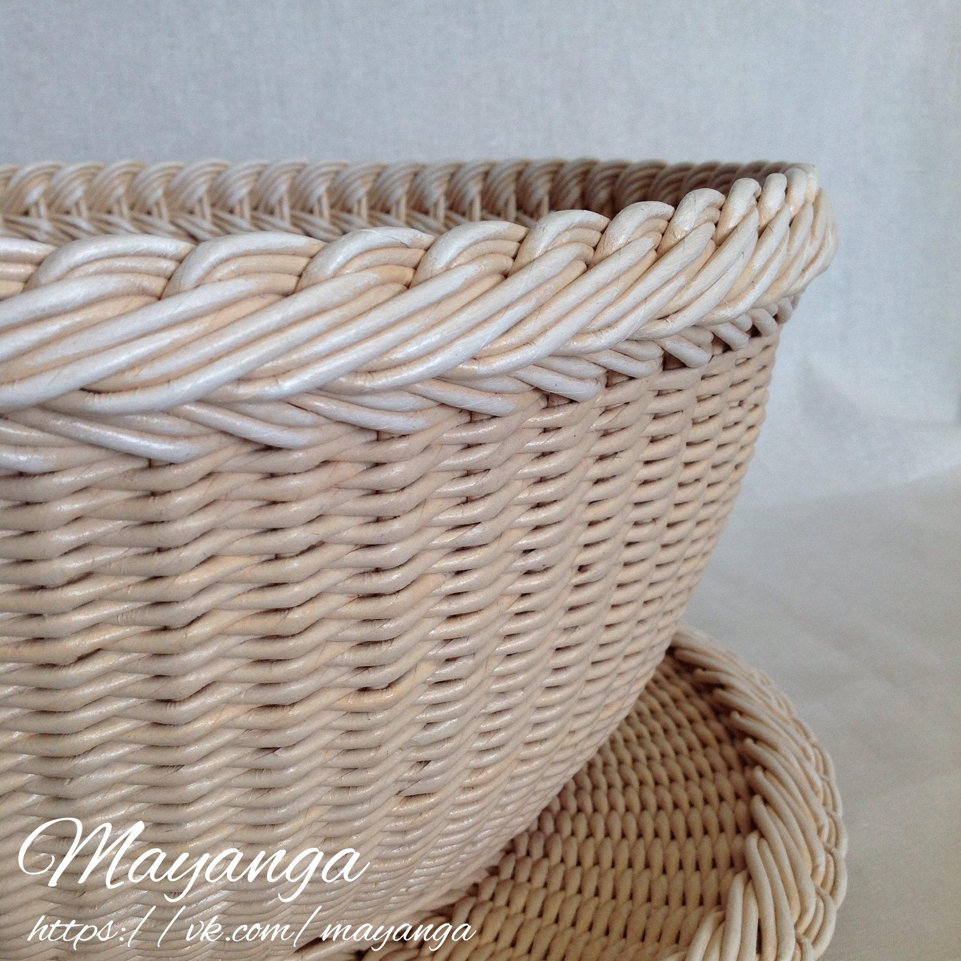 плетение башмака из газетных трубочек пошаговая инструкция