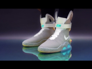 Nike CEO Mark Parker announces the launch of the limited-edition Nike Mag.