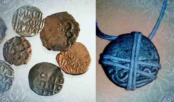 Как сделать ордынский амулет своими руками с монетой