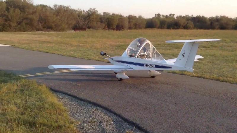 Colomban CriCri Jet Display Flight