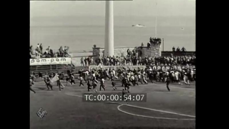 Чемпионат Франции 1960-1961. 38-й тур. «Расинг» - «Монако»