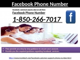 Dial Facebook phone number to Acquire Instant Help 1-850-266-7017
