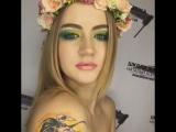 макияж для фотосессию для красотки Ани))