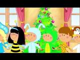 Новогодние песни для детей и взрослых с субтитрами - СБОРНИК - В лесу родилась елочка, Жила-была Царевна, Смышленый Паровозик