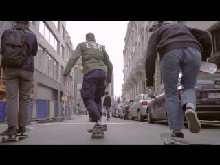 Денис Юзефович на открытии Byrrrh & Skate X Levi's Skateboarding DIY