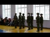 Конкурс смотра строя и песни «Аты-баты, шли солдаты!» группа 160