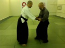 Aiki nage, kokyu ho - body mechanics.