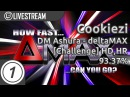 Cookiezi | DeltaMAX [Challenge] HDHR 3x Misses 1 LOVED | Livestream w/ chat reaction!