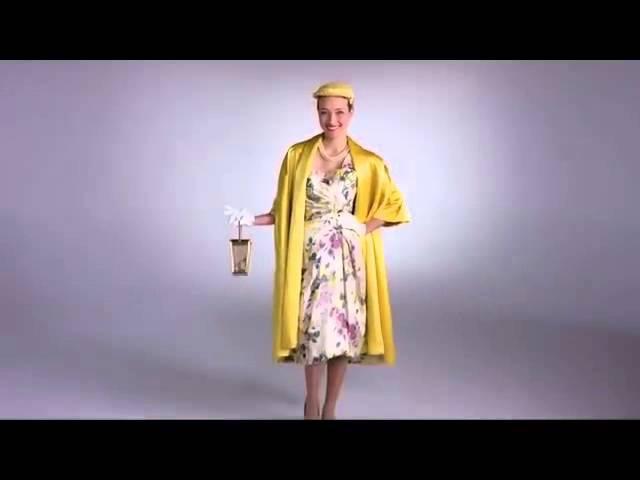 100 лет истории женской моды за 2 минуты