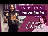 Zaho nous parle de son album Le Monde A L'Envers sur Hotmixradio