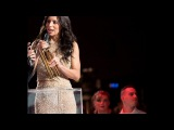 Zaho Remet le prix de la chanson international de l'ann