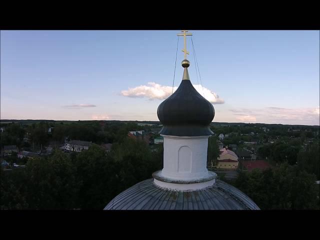 Город Спас-Деменск Калужской области. Храм Преображения Господня.