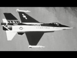 Первые полёты прототипа YF-16, 1974 год.YF-16 Fighting Falcon Flight Test Summary, Fall 1974 General Dynamics JQ Music